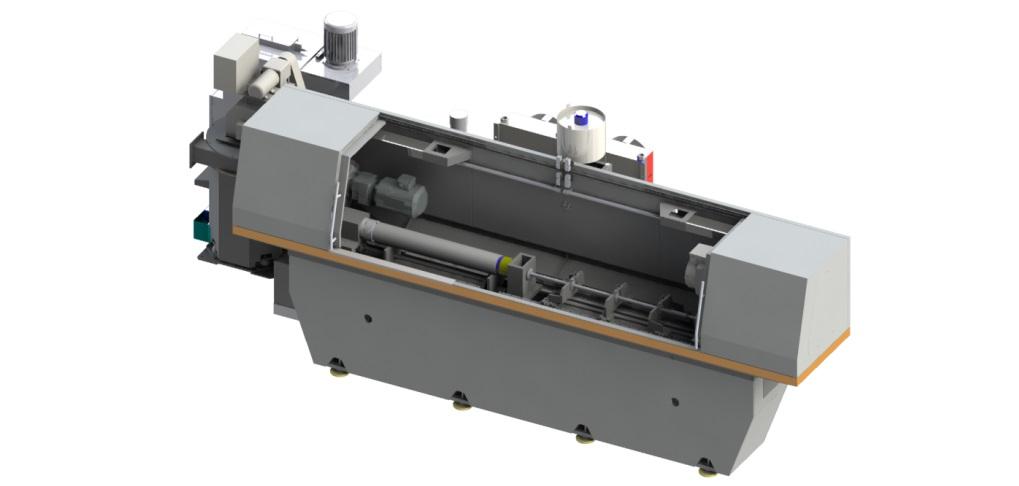 Одношпиндельный станок для глубокого сверления с ЧПУ: RAPIRA SGS-01/02 Усиленный