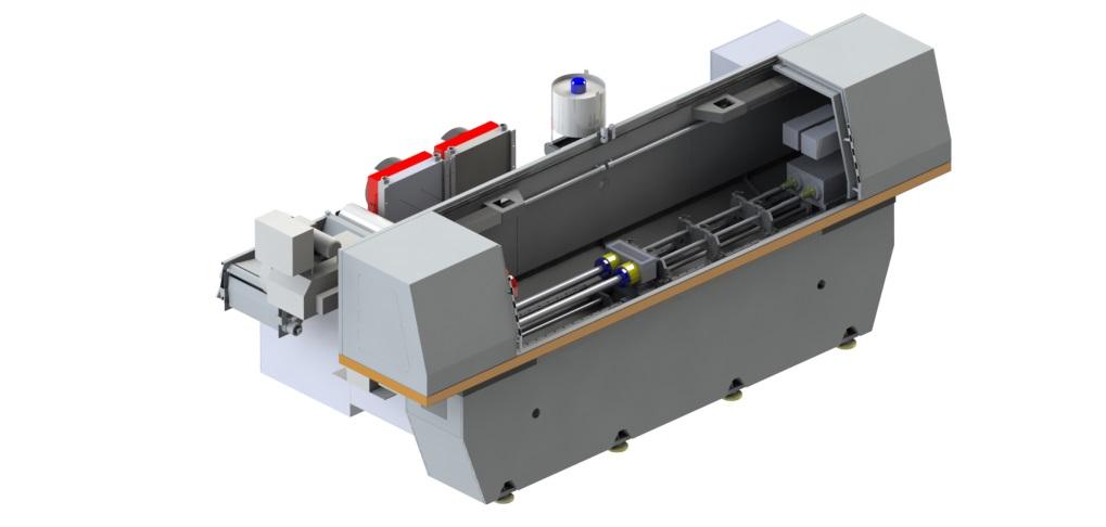 Двухшпиндельный станок для глубокого сверления с ЧПУ: RAPIRA SGS-02