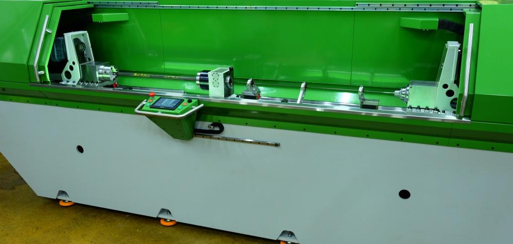 Одношпиндельный станок для глубокого сверления с ЧПУ: RAPIRA SGS-01