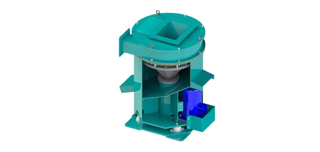 Система отделения масла от стружки – Центрифуга RAPIRA
