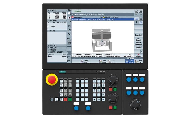 Система ЧПУ (панель управления и контроллер) Siemens