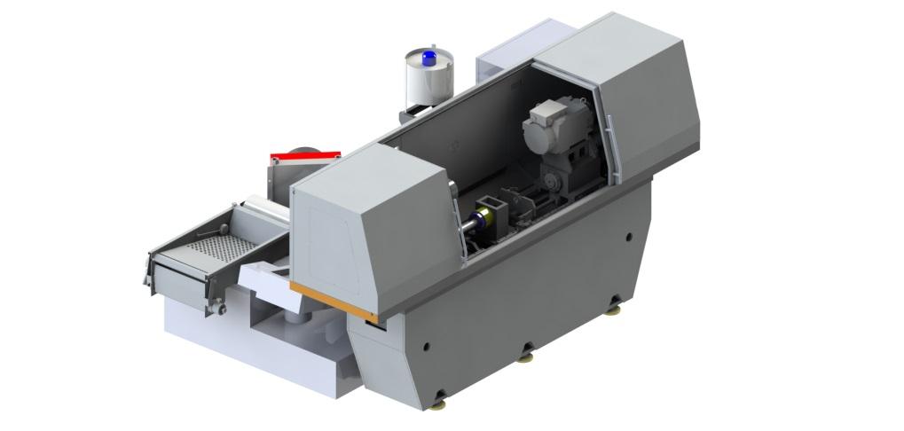 Одношпиндельный станок для глубокого сверления с ЧПУ: RAPIRA SGS-01/03