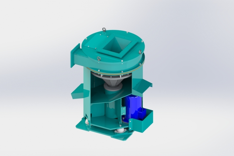 Система для отделения масла от стружки (Центрифуга)