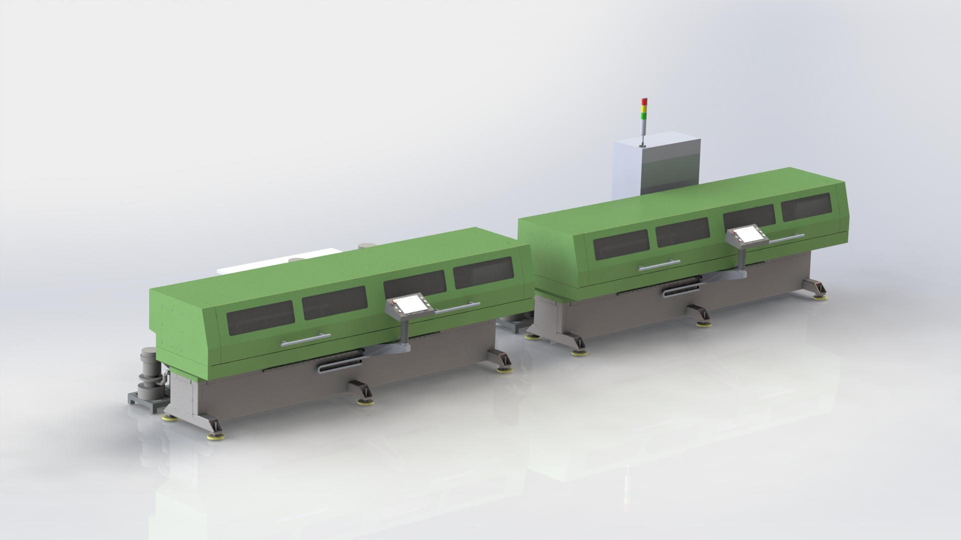 Электрохимический станок для профилирования канала с ЧПУ: ЭХО-01